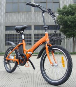 New and Nice Foldable E-Bike with Pedals for Girls and Students pictures & photos