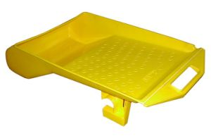 230mm Durable Heavy Duty Paint Roller Tray with Hood and Ladder Hook pictures & photos