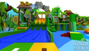 Kaiqi Indoor Playground Equipment for Children (KQ65029A) pictures & photos