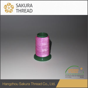 Oeko-Tex100 1 Class 100% Polyester Reflective Thread for Weaving pictures & photos