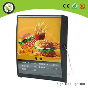 High Quality Acrylic Signage Slim LED Light Boxes for Menu Board pictures & photos