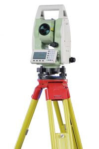 Total Station with 350m Reflectorless Measurement, SD Card, USB, Bluetooth, RS232 Port pictures & photos