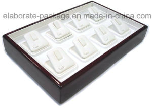 Wholesale Wooden Tray Retangle Wooden Jewelry Display Tray pictures & photos