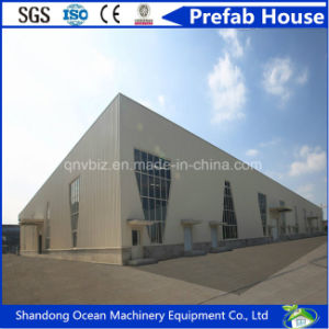Low Cost Huge Span Prefabricated Steel Structure Building for Warehouse Workshop Carparking of Environmental Protection pictures & photos
