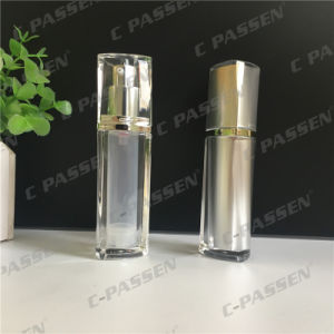 15ml Clear Acrylic Airless Lotion Bottle for Cosmetic Packaging (PPC-AAB-033) pictures & photos