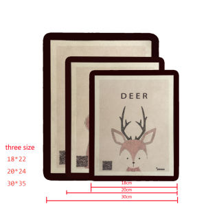 New Trending High Quality Suede Velvet Mouse Mat Mouse Pad pictures & photos