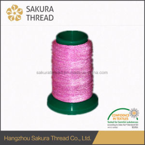 300d/500d Polyester Reflective Thread for Embroidery pictures & photos