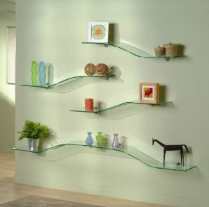 Tempered Glass Shelves with En12150, BS6206, AS/NZS2208: 1996 pictures & photos