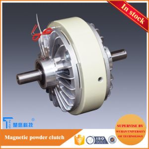 True Engin Double Shafts Magnetic Powder Clutch 6nm for Manual Tension Controller pictures & photos