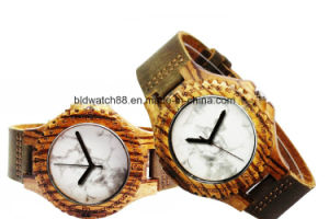 Best Leather Wooden Couple Watch Wood for Lovers Japan Movement pictures & photos