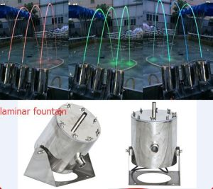 2016 New Type Jumping Laminar Water Jet Fountain Nozzle pictures & photos