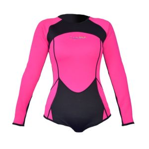Wholesale Custom Made Private Label Neoprene Swimming Wetsuit/Wetsuits Top Premium Neoprene 3mm Zipper Diving Vest pictures & photos