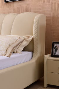 Modern Bedroom Furniture Soft Bed (9559) pictures & photos