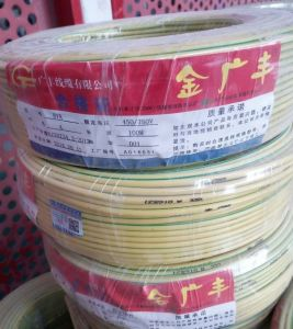 Bvr 450/750V Electric Stranded Copper Wire pictures & photos