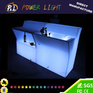 LED Light Furniture Straight Bar Counter pictures & photos