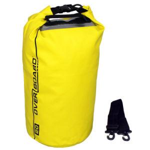Cube Type Yellow Waterproof Dry Bag Outdoor Shoulder Bag pictures & photos