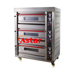 3 Deck 6 Trays Commercial Gas Baking Oven High Quality Oven Bakery Equipment pictures & photos