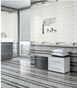 Non-Slip Rustic Glazed Interior Porcelain Wall Tile for Home Decoration pictures & photos