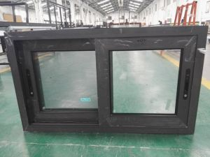 Woodwin Customized Color Double Tempered Glazed Aluminum Sliding Windows pictures & photos
