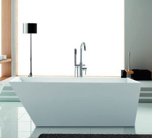 Acrylic Simple Bath Tub with Cupc, Ce, Acs, Saso Certficate pictures & photos