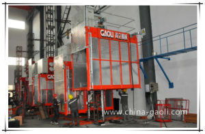 China Top Manufacturer Two Cages Construction Hoist Sc200/200 pictures & photos
