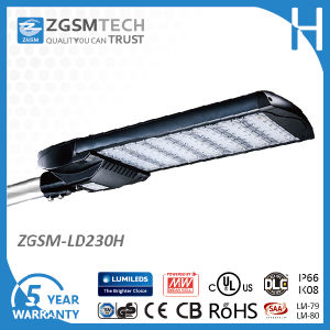 Horizontal and Vertical Installation 230W LED Street Light IP66 pictures & photos