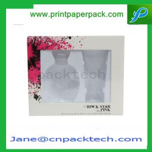 Custom Printing Logo Cosmetic Packaging Perfume PVC Box pictures & photos