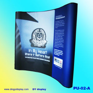 3X3m Curvy Shape Pop up Display for Trade Show (PU-02-A) pictures & photos
