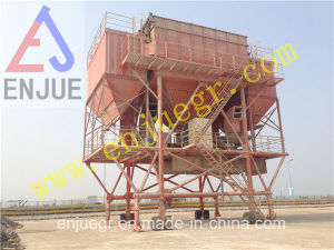 Rubber Tire Dust Removal Hopper with Dedusting Equipment pictures & photos