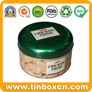 Octagon Cookie Tin Box for Food Tin Packaging, Metal Food Container pictures & photos