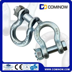Us Type G2130 Hot DIP Galvanized Bolt Type Anchor Bow Shackle pictures & photos