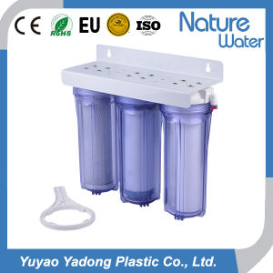 3 Stage Household Table Top Water Filter pictures & photos