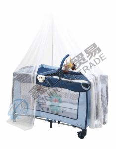 En716 Approved Portable Baby Playpen/ Baby Travel Cot pictures & photos