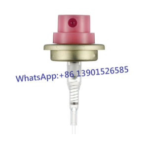 31.5mm Transparent Crimp on Spray Pump with Overcap pictures & photos