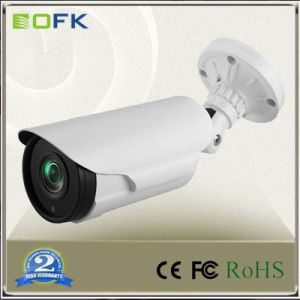 Without IR LEDs H. 265 3.0MP Sony Imx124 Low Lux Starlight Security IP Bullet Camera
