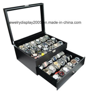 Slot Wrist Watch Gift Box Leather Jewelry Collection Display Storage pictures & photos