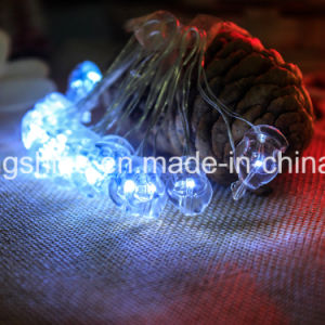 Warm White Santa Claus Waterproof Copper Wire LED String Light 50FT Lights for Christmas pictures & photos