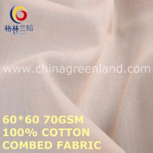 100%Cotton Combed Fabric for Garments Industry (GLLML475) pictures & photos