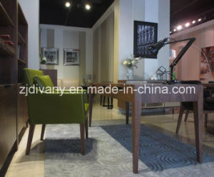 2016 Fashion Style Leather Sofa Chair Living Room Wooden Chair (C-52) pictures & photos