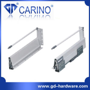 Concealed Full Extension Drawer Slides Bottom Mount (F218P) pictures & photos