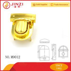 Gold Shinning Color Beautiful Handbag Decorative Metal Press Lock