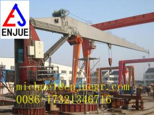 Electric Hydraulic Telescopic Boom Deck Cranes Arm Carne Offshore Marine Crane pictures & photos