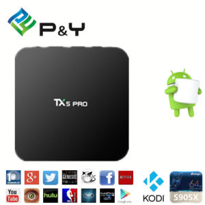 Tx5 PRO S905X 2g 16g Android 6.0 TV Box pictures & photos