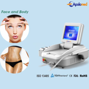 New Design portable Clinic Use Hifu Ultrasound Face Wrinkle Removal Beauty Machine pictures & photos
