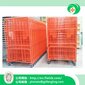 Foldable Storage Cage for Warehouse pictures & photos
