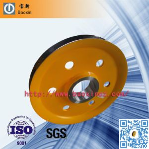 Forging Special High Quality Sheave Pulley for Crane pictures & photos