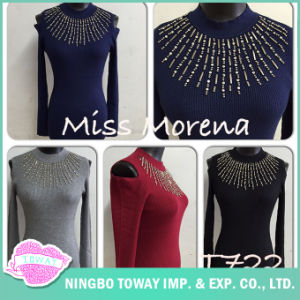 Sale Knitting Sweater Jumpers Ladies Knitwear for Women pictures & photos