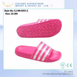 Ladies Lightweight EVA Slipper Anti-Slip Bathroom Slippers pictures & photos