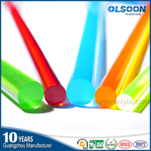Guangzhou Manufacture Acrylic Light Rod/Plastic Rod/ Plexiglass Rod pictures & photos