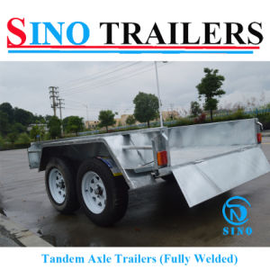 Australian Galvanized Tandem Box Trailer pictures & photos